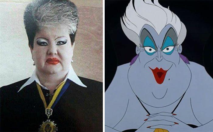 This Ukrainian Judge Looks Like Ursula From Little Mermaid