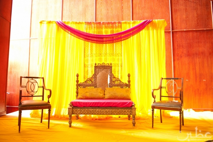 Mehndi Stage Decoration Simple : Images about mehndi and gaye holud on pinterest