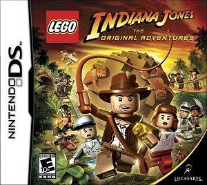 Lego Indiana Jones The Original Adventures DS Game