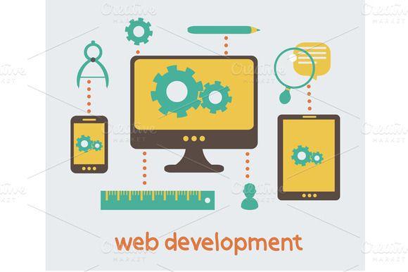 Web Development by Sabelskaya on Creative Market
