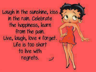 Thanksgiving Betty Boop Quotes for Facebook | Love me some Betty Boop!
