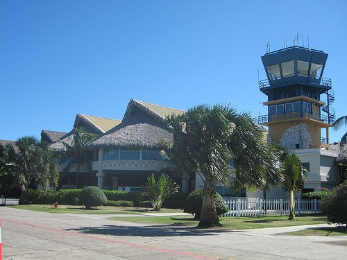 Punta Cana airport.  BEST way to start a vacation is landing here!
