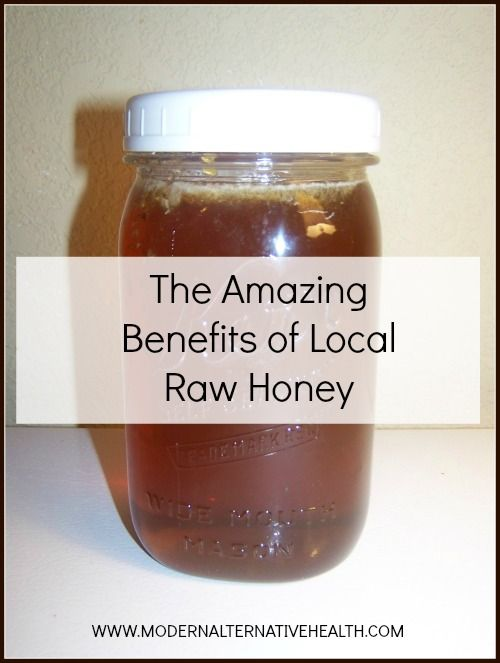 Amazing Benefits of Local Raw Honey - eating this also helps with allergies