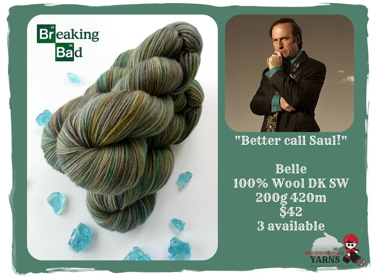 Better call Saul! - Breaking Bad / Red Riding Hood Yarns