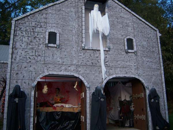 Garage Facade 135 best halloween facade images on pinterest | halloween ideas