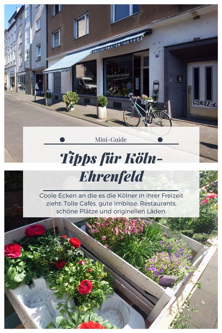 Städtetrip in Deutschland? Wie wäre es mit Köln? Genauer: Mit dem coolen Stadtteil Köln-Ehrenfeld? Tipps für Cafés, Restaurants, coole Läden uvm.