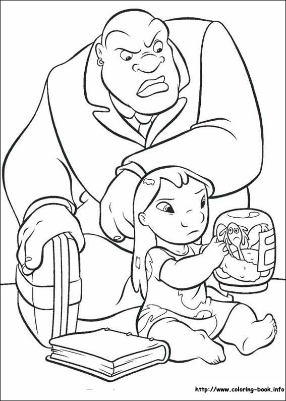 17 Best images about Disney Lilo and Stitch Coloring Pages ...