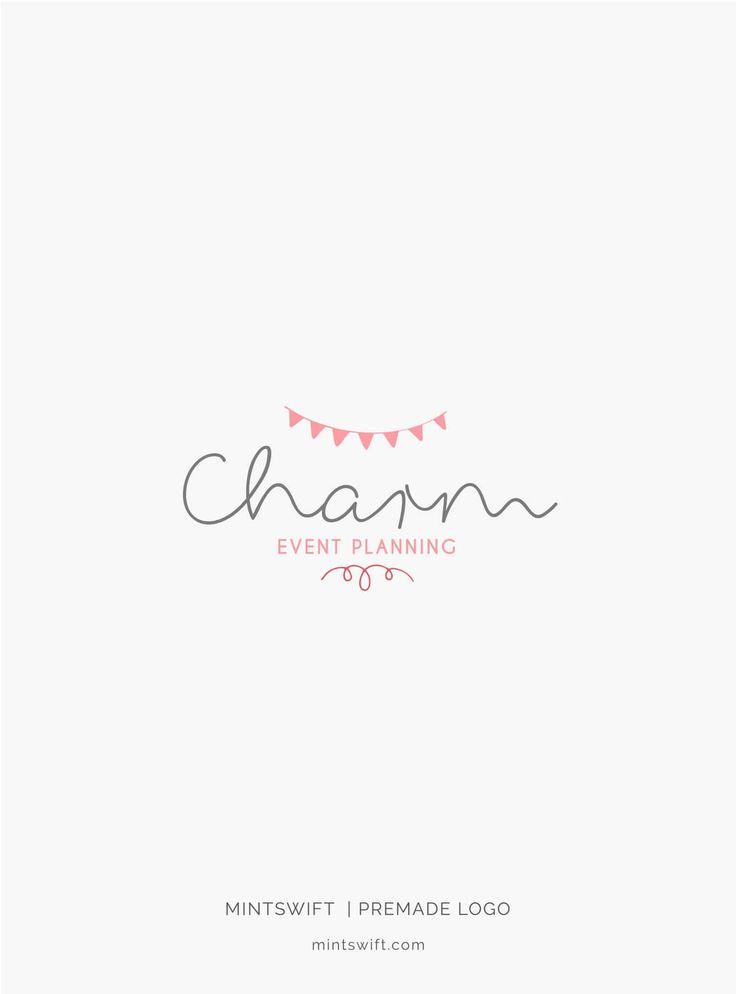 $39 | Charm Premade Logo Design | MintSwift