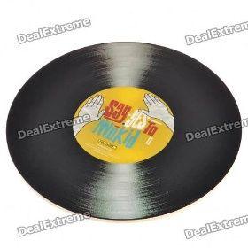 Kreativní vinylových desek ve tvaru podložka podložka pod myš