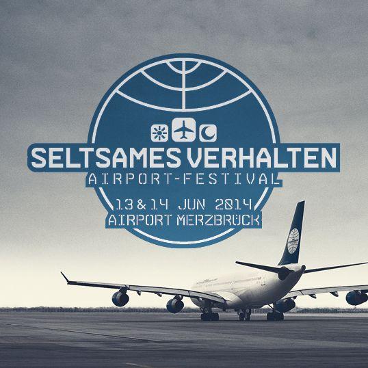 Artwork for SELTSAMES VERHALTEN Airport Festival 2014, which is one of the region's biggest EDM-festivals. Client: SELTSAMES VERHALTEN Date: 11/013