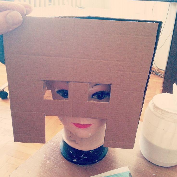 Steve from Minecraft   #diy #craft