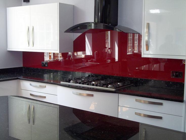 Idée couleur cuisine  la cuisine rouge et grise - Photo Cuisine Rouge Et Grise