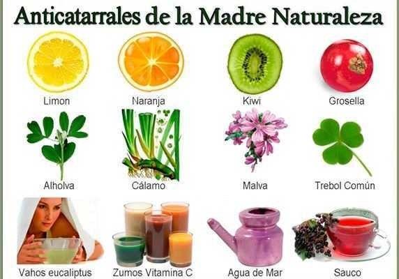 Remedios naturales para el catarro - Remedios para el Alma