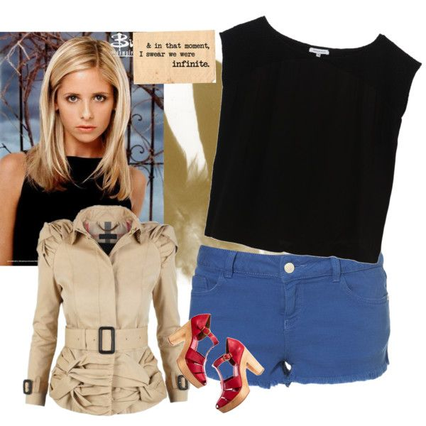 Will someone please buy me Buffy Summer's outfit? Because I'm pretty sure I'd be an awesome slayer!