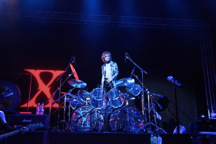 Yoshiki . X Japan . Drum