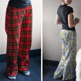 Free Projects: Flannel Pajama Pants | Camelot Fabrics