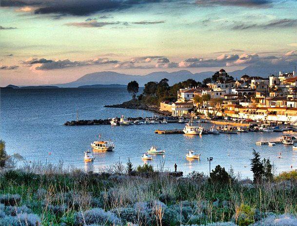 Perdika. A small fishing village on the island of Aegina. Greece