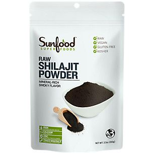 Shilajit Powder (3.5 Ounces Powder)  by Sunfood Superfoods at the Vitamin Shoppe