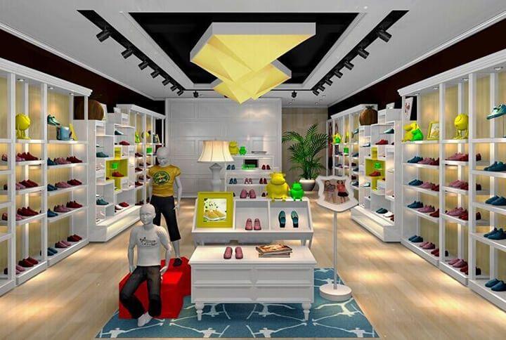 shoes shop display | Shop design, Shoe