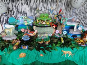 FESTA COMPLETA  Aniversário infantil- tema Aventuras com os kratts