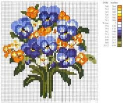 Image result for flower for embroidery cross stitch