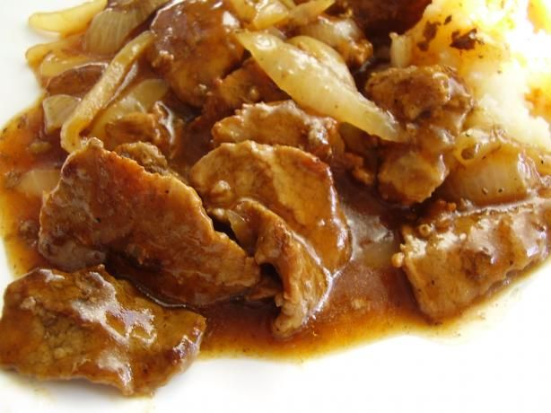 Beef tips and gravy from the best flavor you can for Best gravy for lamb
