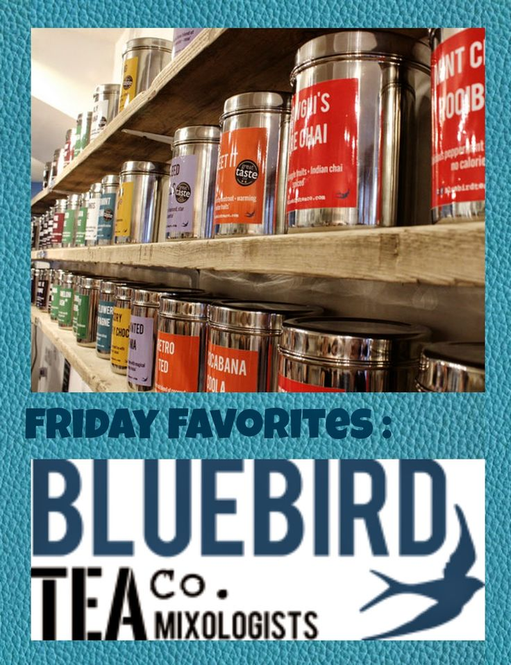 I am absolutely in love with Bluebird Tea Company's selection of teas. There are so many and they are so good!