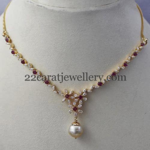 Jewellery Designs: Best Diamond Set for Gift