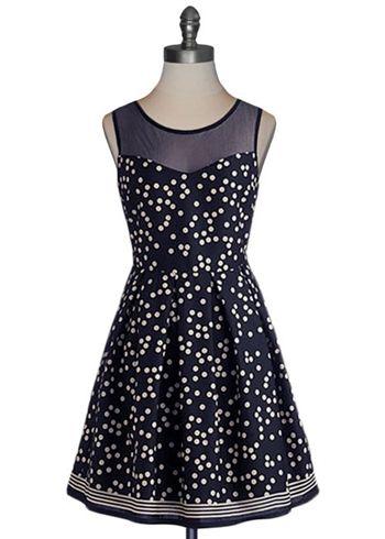 Polka Dot Party Dress: Polka Dots Dresses, Sleeveless Dresses, Parties Dresses, Cute Dresses, Polkadot, Bridesmaid Dresses, Sheer Tops, Holidays Dresses, The Dots