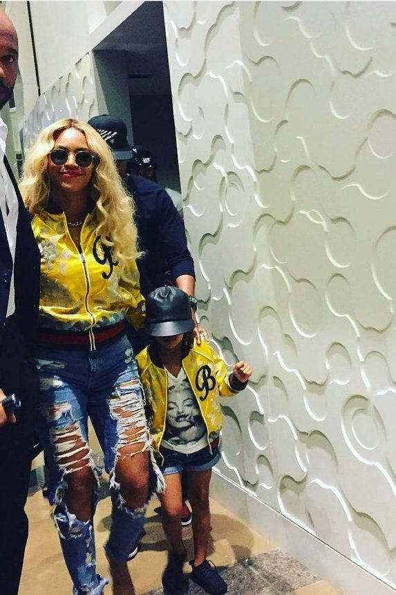 Beyonce and Blue - 21 Times Beyonce and Blue Ivy Were Mommy-And-Me Style Goals