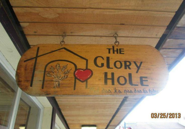 There Is a Christian Shelter Called The Glory Hole.....ROFL you can't make this shit up.