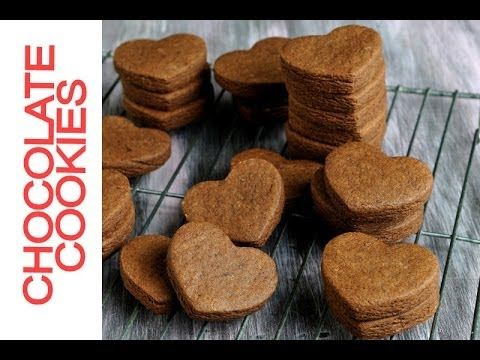 ▶ Best Chocolate Cookie Recipe for Cut Out Cookies - YouTube