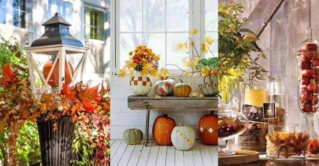 Jesień w domu: 15 dekoracji, które zrobisz sama