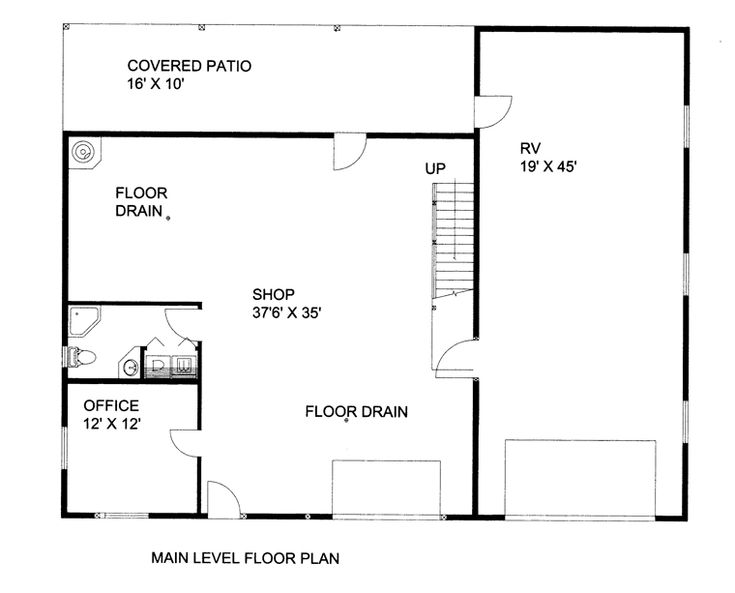 17 best images about house plans on pinterest square for Garage plans with office