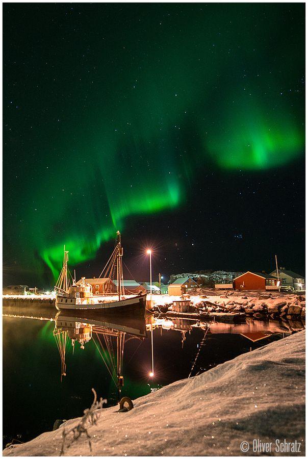 """#Aurora Boat """"De Stabben"""" Laukvik Norway. www.byzonderereizen.no"""