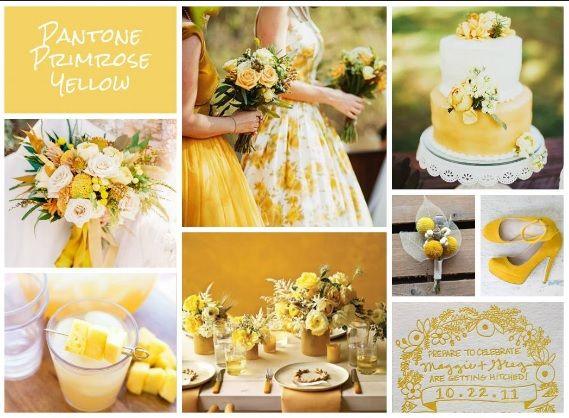 Pantone 2017 - Primrose  yellow