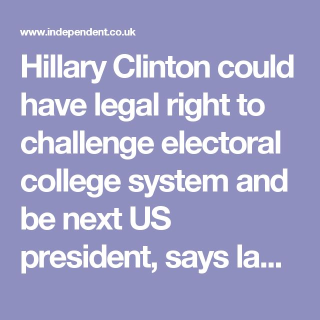 The Best Electoral College System Ideas On Pinterest The - Us electoral map 2016 clinton winer