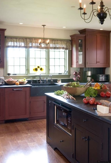 83 best Colonial Kitchens images on Pinterest | Colonial kitchen ...