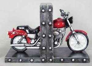 Biker Gifts Motorcycle Bookends