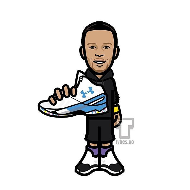 "Happy Birthday to Stephen Curry!  Stephen turns 28 years old today, and Under Armour is celebrating with a new colorway of his signature sneaker. Steph will lace up the UA Curry Two ""Surprise Party"" tonight when the Warriors host the Pelicans, and the colorway will release on Tuesday, March 15 at UA.com and select retailers. BE SURE TO TAG STEPH TO WISH HIM A HAPPY BIRTHDAY! (Stephen and his wife Ayesha celebrated their birthdays with a black sweatsuit party) #StephenCurry #UA #UnderArmour…"