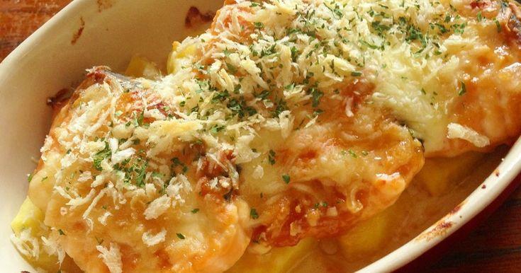*秋鮭の味噌チーズ焼き* by 柚子ぽんず♪キッチン [クックパッド] 簡単おいしいみんなのレシピが270万品