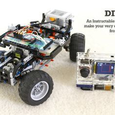 DIY Arduino Remote Control and Lego RC Vehicle!!