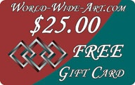 Free Gift Card at World-Wide-Art.com