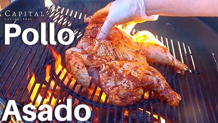 Pollo Asado (adobado) | Marinado 24 hrs | La Capital  #BiteSizedBzz #SummerOfBzz