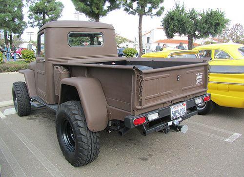 Willys PickUp Truck 4x4   Vista, California.   MR38.   Flickr