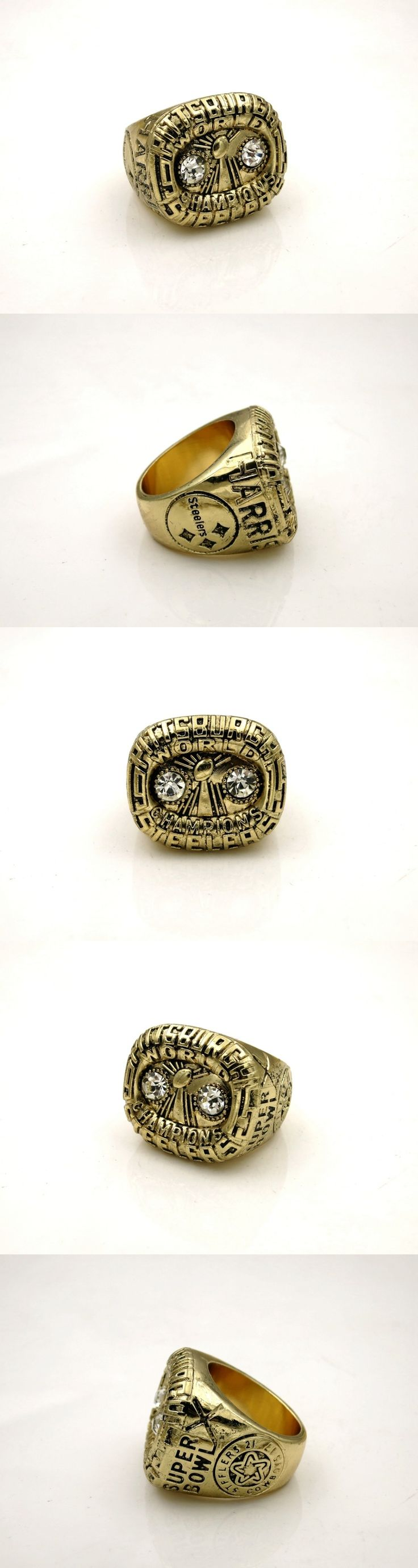 1975 Pittsburgh Steelers World Championship Ring SA001