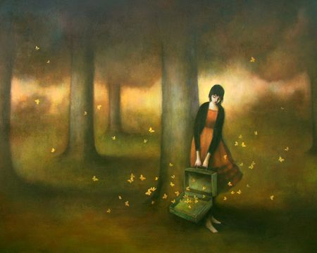 duy huynh (pronounced yee wun) // the 1st painting i fell in love with!