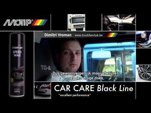 MOTIP Car Care Black - Speed Wax (testimonial) www.thebuzzco.be