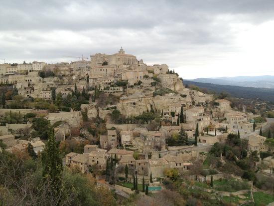 Talking of hilltop villages... @Roussillon, France