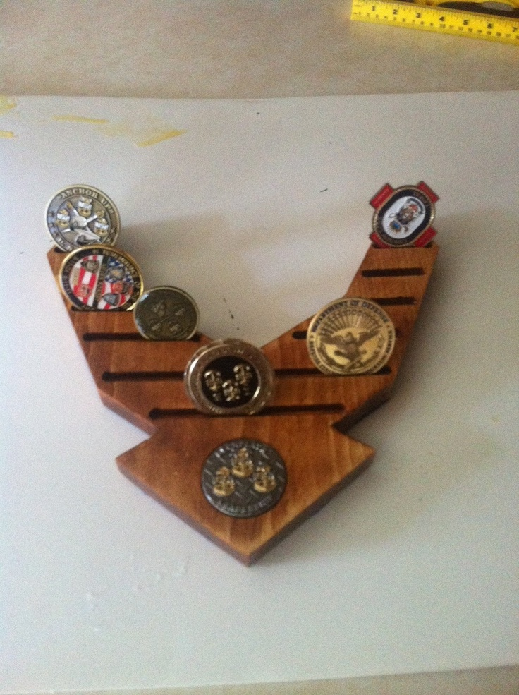 Challenge coin holder air force / Star coin milledgeville ga